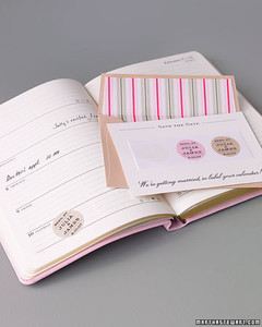 Save-the-Date Stickers | Martha Stewart Weddings