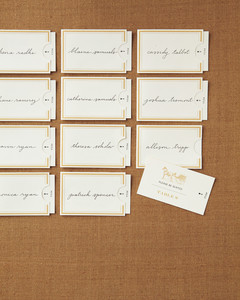 Vintage-Style Escort-Card Template and How-To   Martha Stewart ...