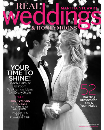 real weddings cover fall SIP 2016