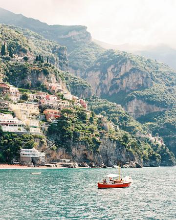 italy honeymoon boat
