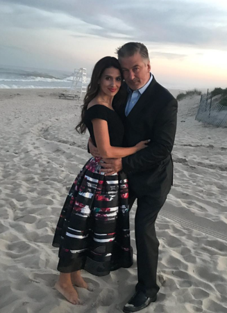 Alec and Hilaria Baldwin