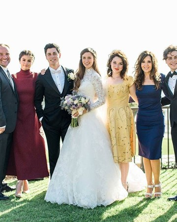 Wizards of Waverly Place Cast at David Henrie's Wedding