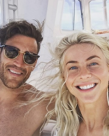 Julianne Hough and Brooks Laich