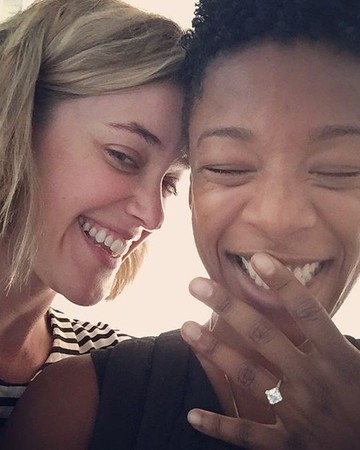Samira Wiley and Lauren Morelli of Orange Is the New Black are engaged