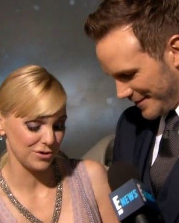 Anna Faris and Chris Pratt Looking at New Ring
