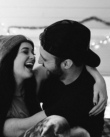 Kacey Musgraves and Ruston Kelly Engagement Photo