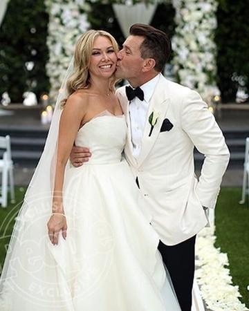 Kym Johnson and Robert Herjavec Wedding Photo