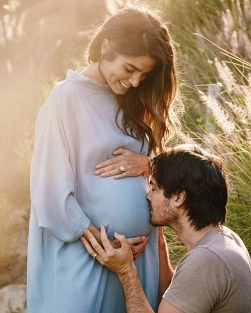 Nikki Reed and Ian Somerhalder Instagram pregnancy announcement