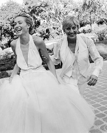 Ellen DeGeneres and Portia de Rossi wedding throwback