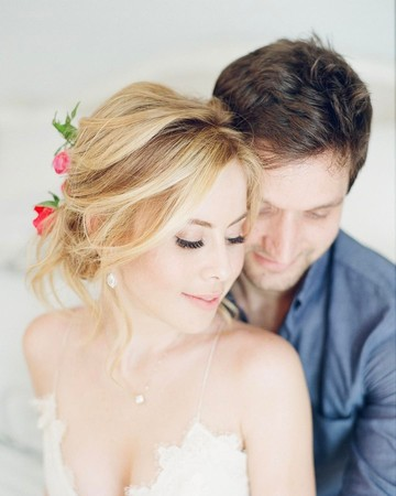 Tara Lipinski and Todd Kapostasy at Their Wedding Shower