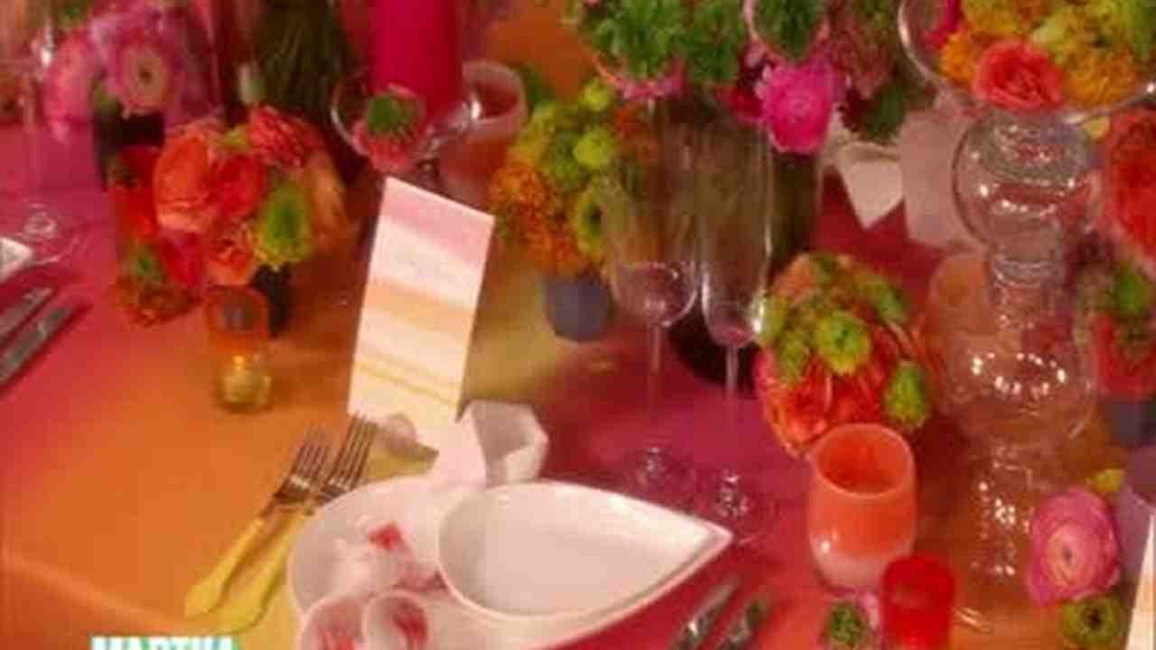 video colorful reception ideas with bryan rafanelli martha