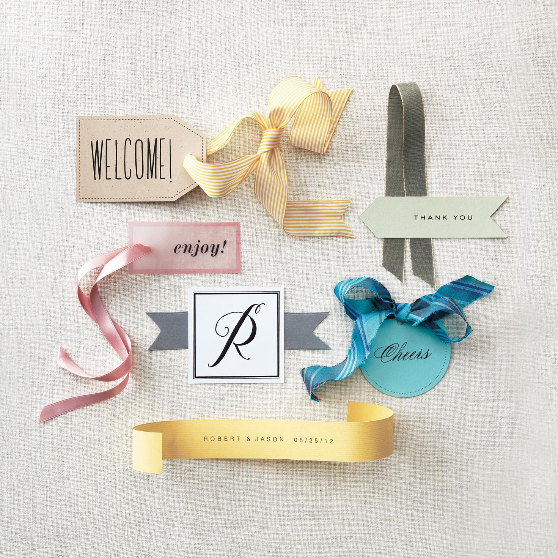 martha stewart gift tag template - six clip art favor tags martha stewart weddings
