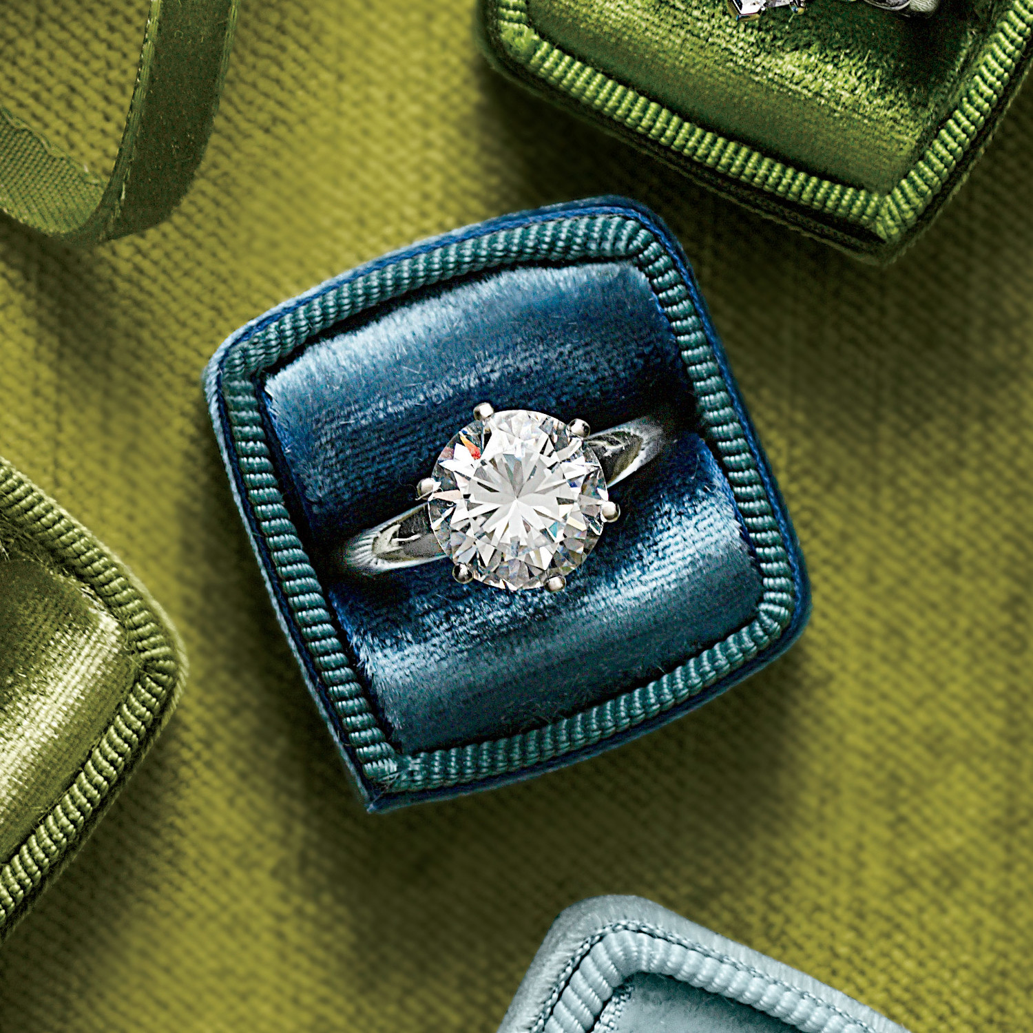 44 engagement rings with brilliant cut and color martha stewart