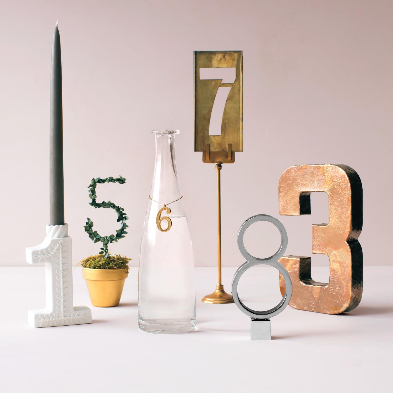 Unique Table Numbers For Wedding Reception Ideas: Martha Stewart Weddings