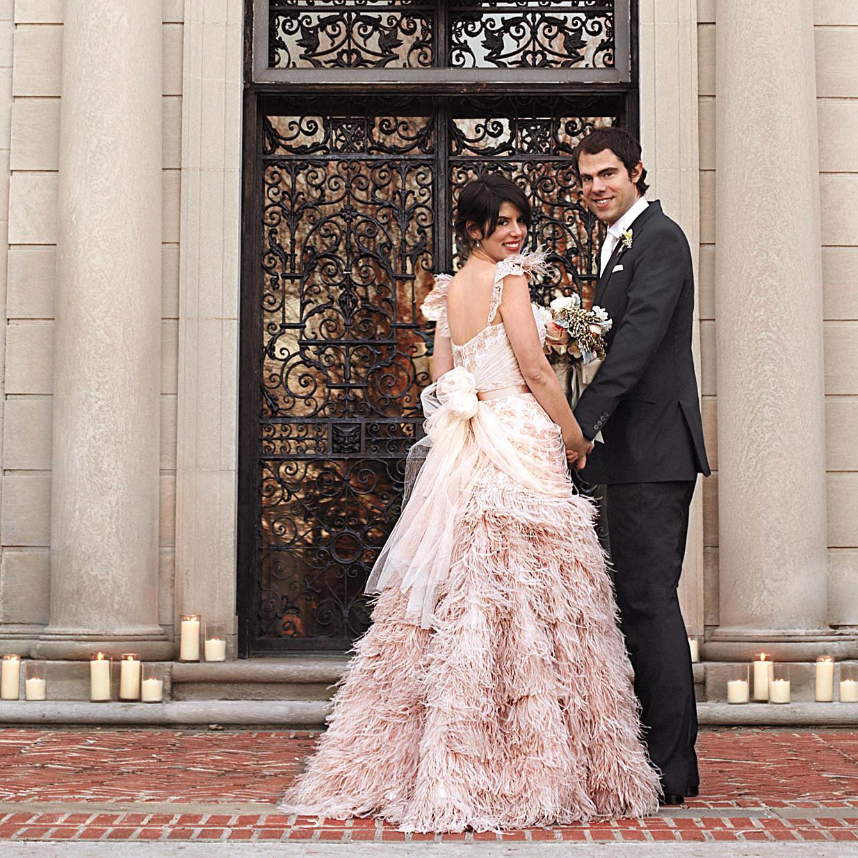 Iconic Wedding-Dress Designers   Martha Stewart Weddings