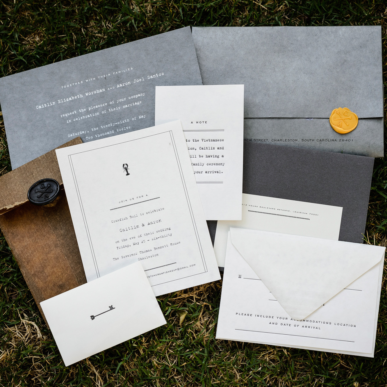 Unique Wedding Invitations | Martha Stewart Weddings