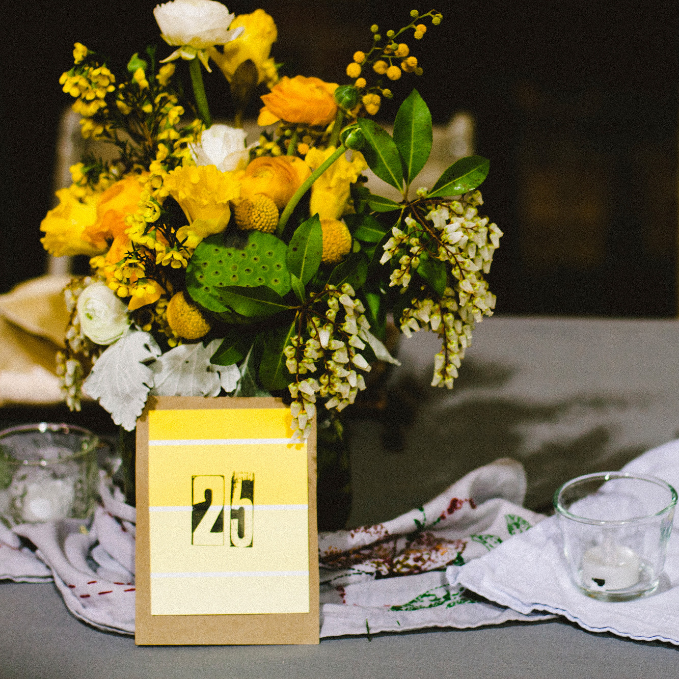 Creative Wedding Place Card Ideas: Unique Wedding Table Numbers