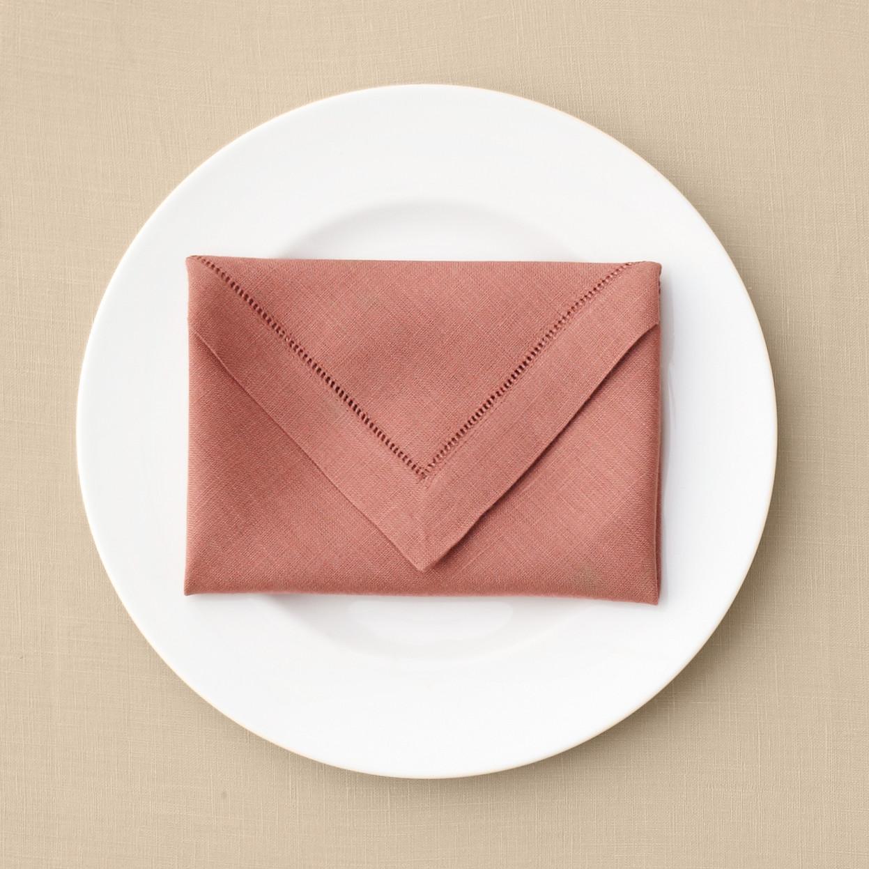 Envelope napkin fold martha stewart weddings