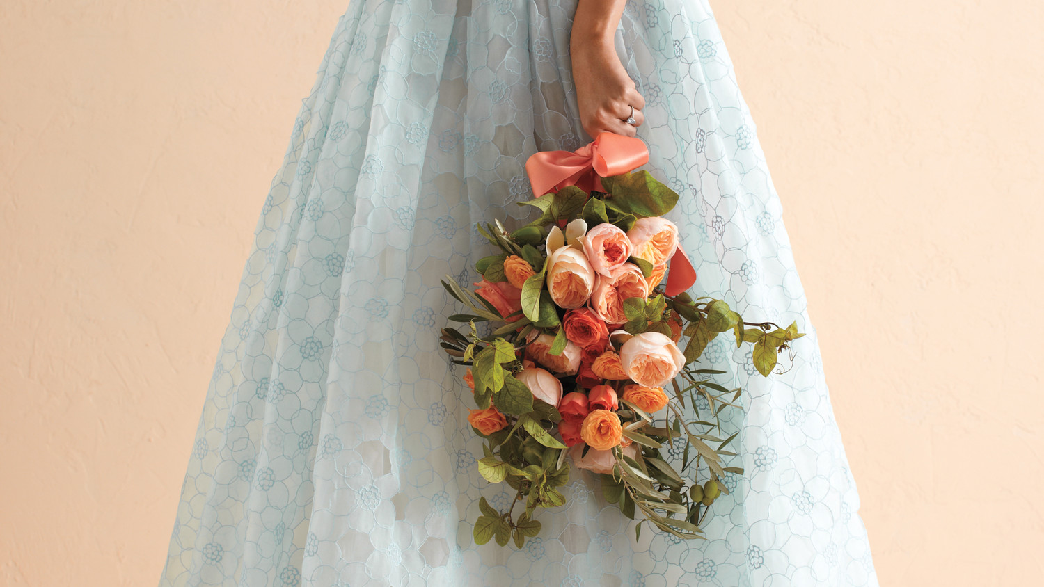 Martha Stewart Weddings: 10 Reasons To Consider Cornflower Blue And Melon For Your