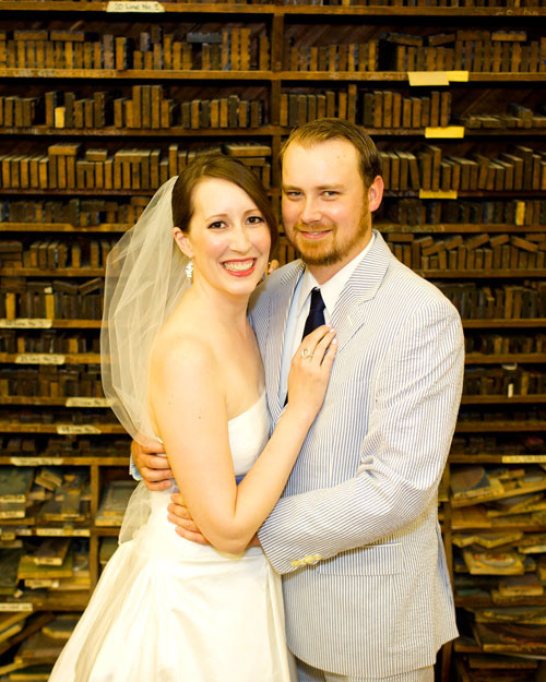 A Laid-Back Blue-and-White Wedding In Nashville, Tennessee