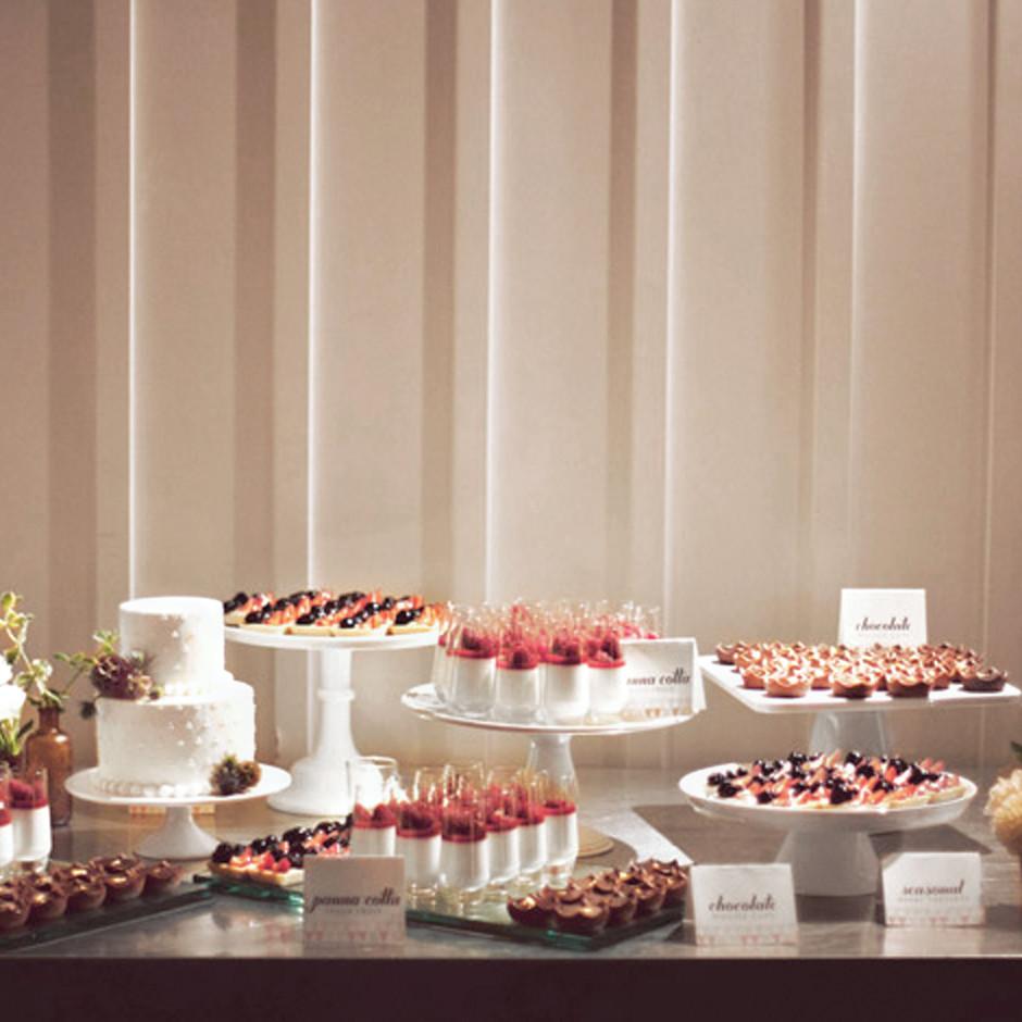 Beach Wedding Dessert Table: Dessert Table Ideas From Real Weddings