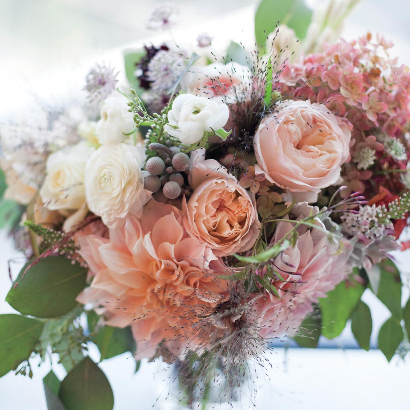 Wedding Bouquet Flower Combinations : Bouquet navy gold mint wedding flowers flower bouquets