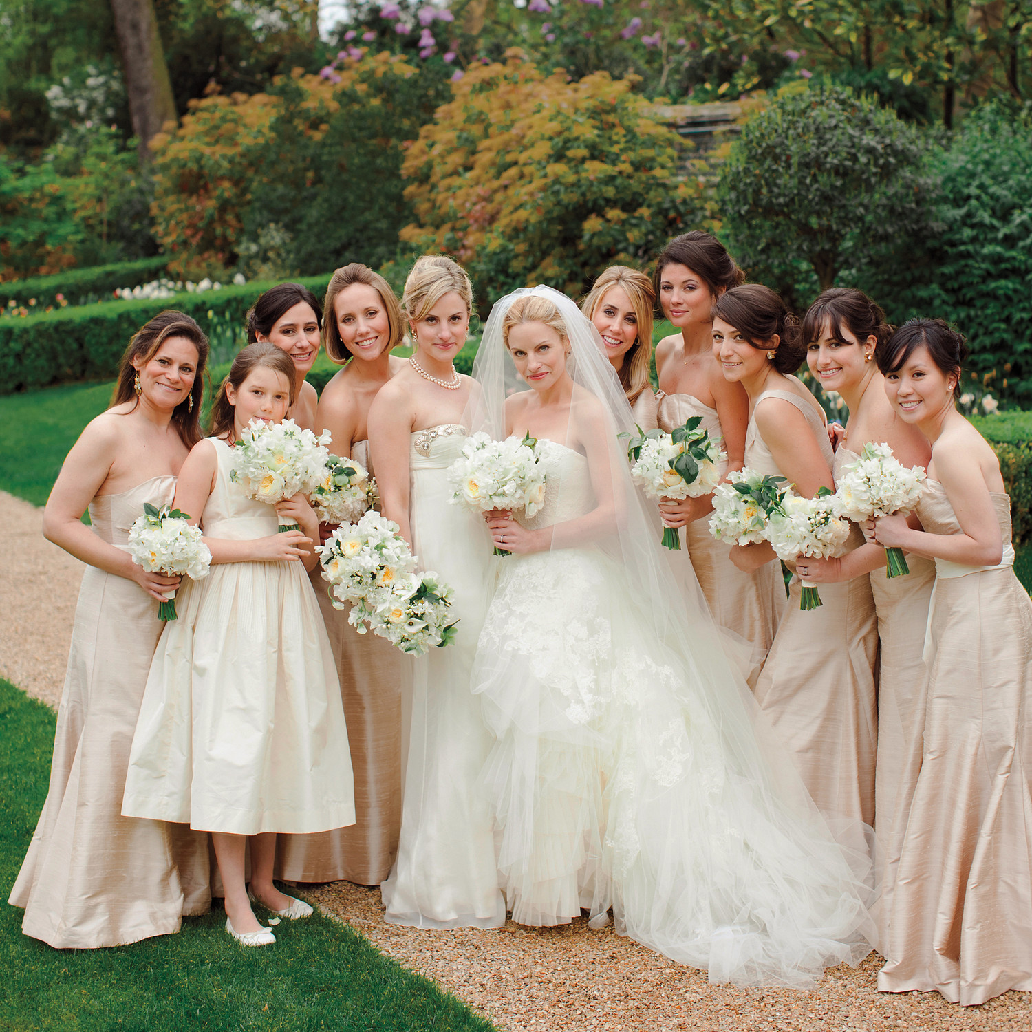 White Wedding Dress On Rent: A Formal Pink-and-Gold Destination Wedding In France
