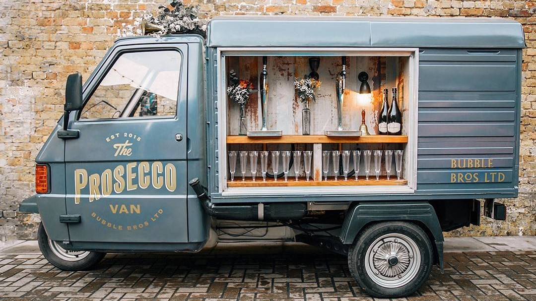 This Incredible Prosecco Van Is Changing The Way Couples