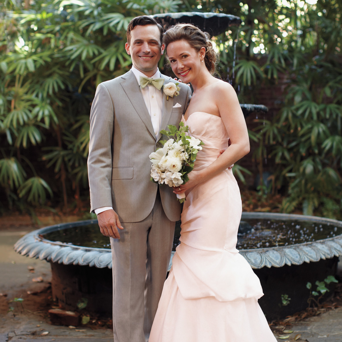Wedding Gowns New Orleans: A Pink-and-Green Whimsical Wedding In New Orleans
