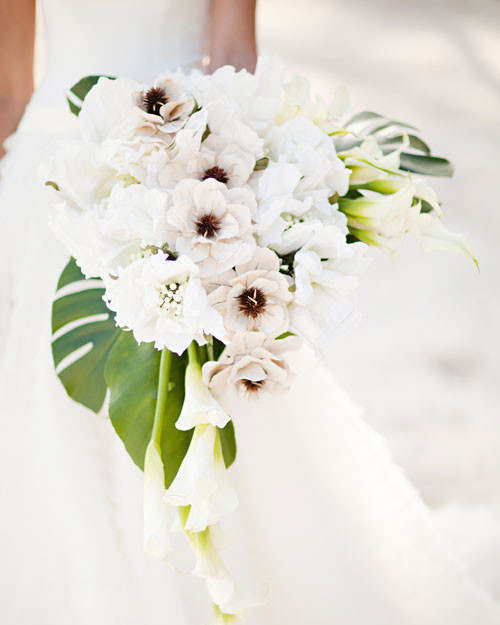 beach wedding bouquets  martha stewart weddings, Natural flower