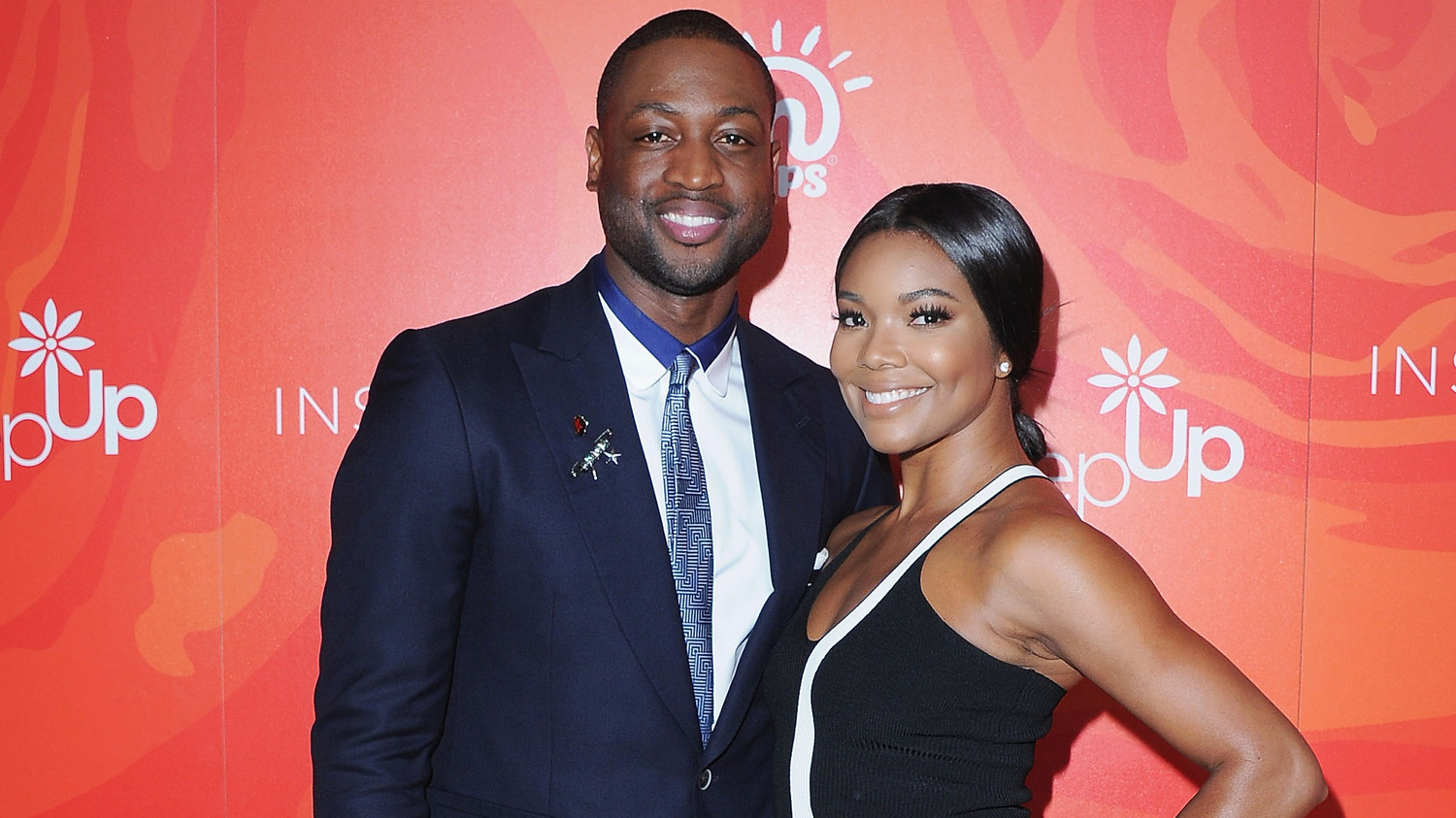 gabrielle union and dwyane wade get in the holiday spirit for, invitation samples