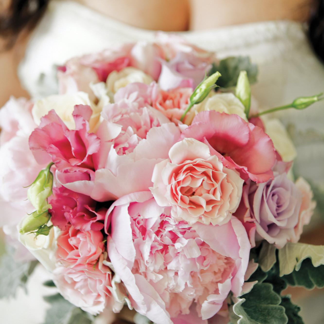 peony wedding bouquets martha stewart weddings. Black Bedroom Furniture Sets. Home Design Ideas