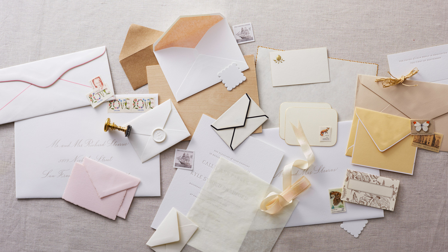 How To Write On Envelope For Wedding Invitations: How To Address Guests On Wedding Invitation Envelopes