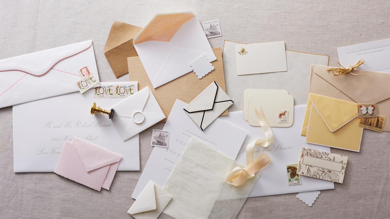 Wonderful How To Address Guests On Wedding Invitation Envelopes   Martha Stewart  Weddings