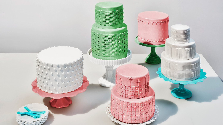 glass cake pastel milk glass