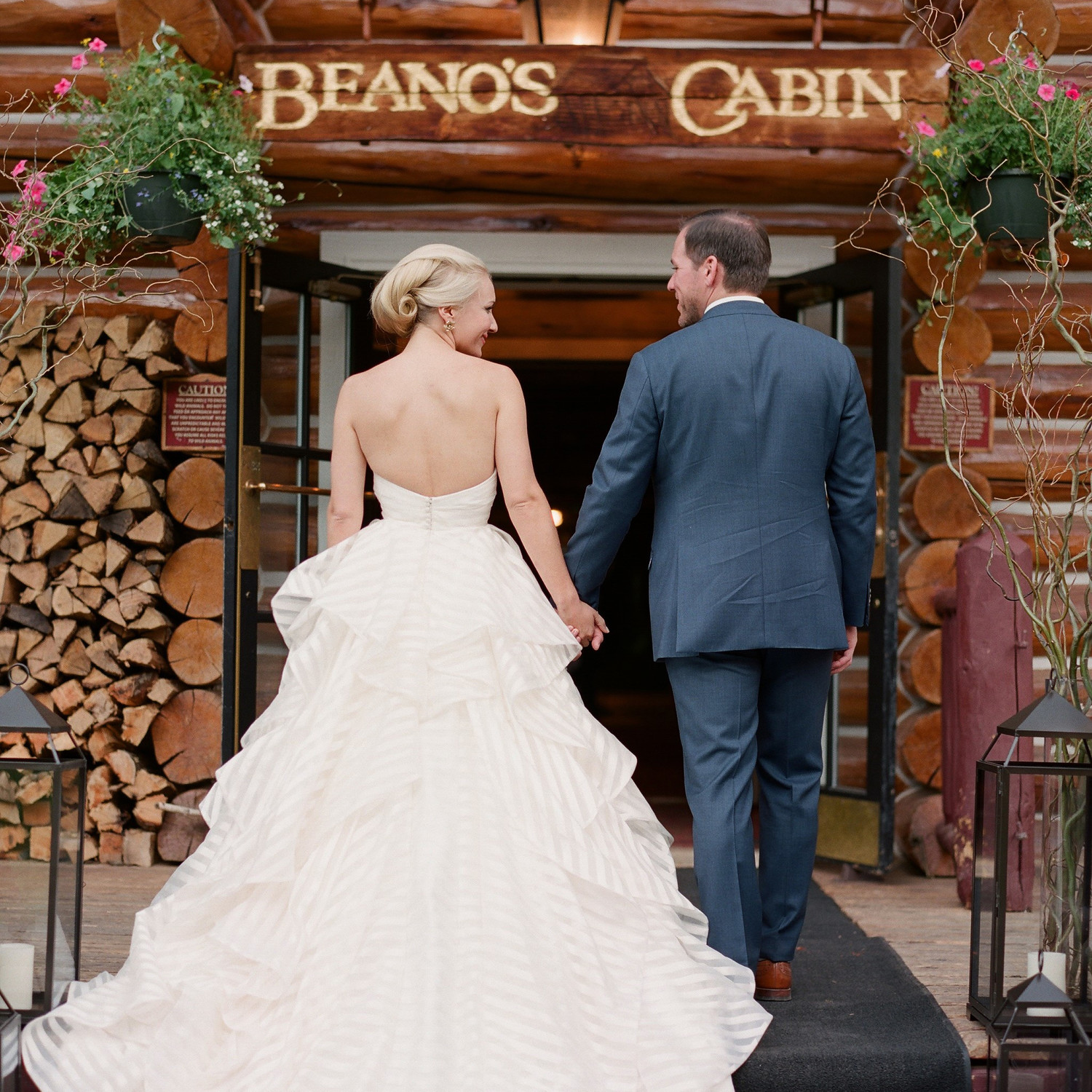 Vintage Wedding Dresses Utah: Stacey And Eric's Beaver Creek Mountain Wedding