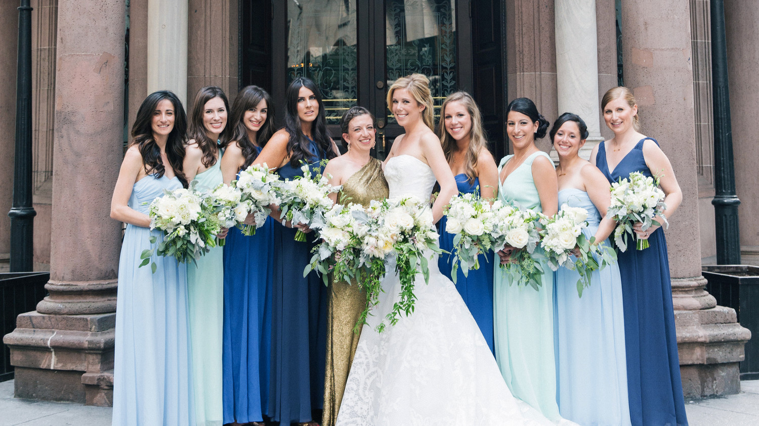 41 Reasons To Love The Mismatched Bridesmaids Look Martha Weddings