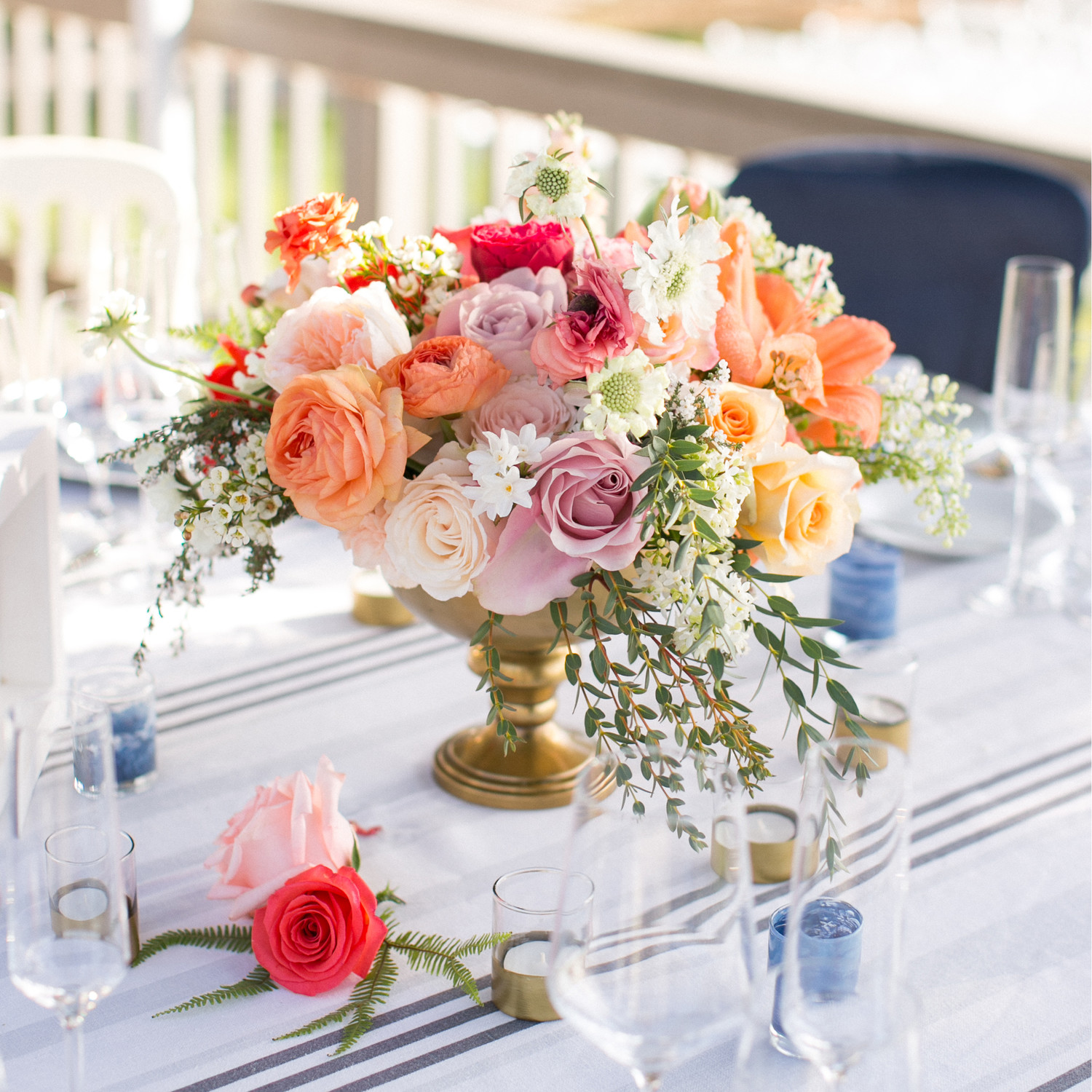 Summer Wedding Centerpiece Ideas: Floral Wedding Centerpieces
