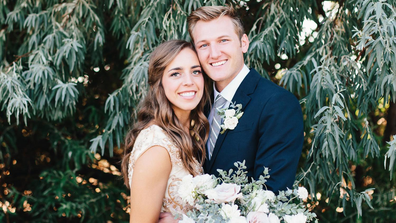A Romantic Backyard Wedding In Salt Lake City Martha