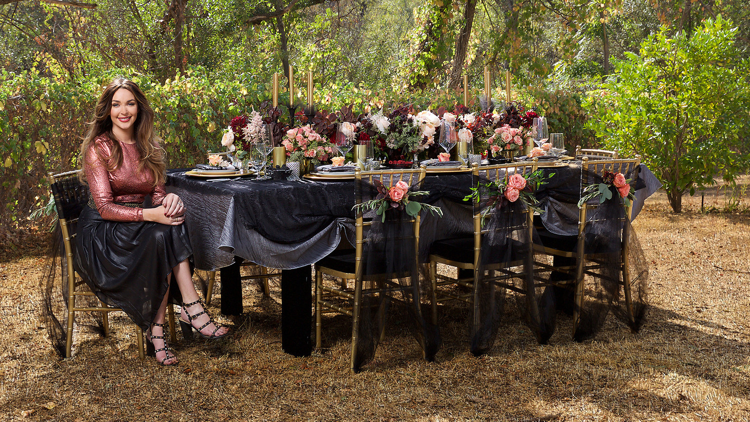 Gothic Decorating Ideas Throw A Halloween Themed Engagement Party That S Actually