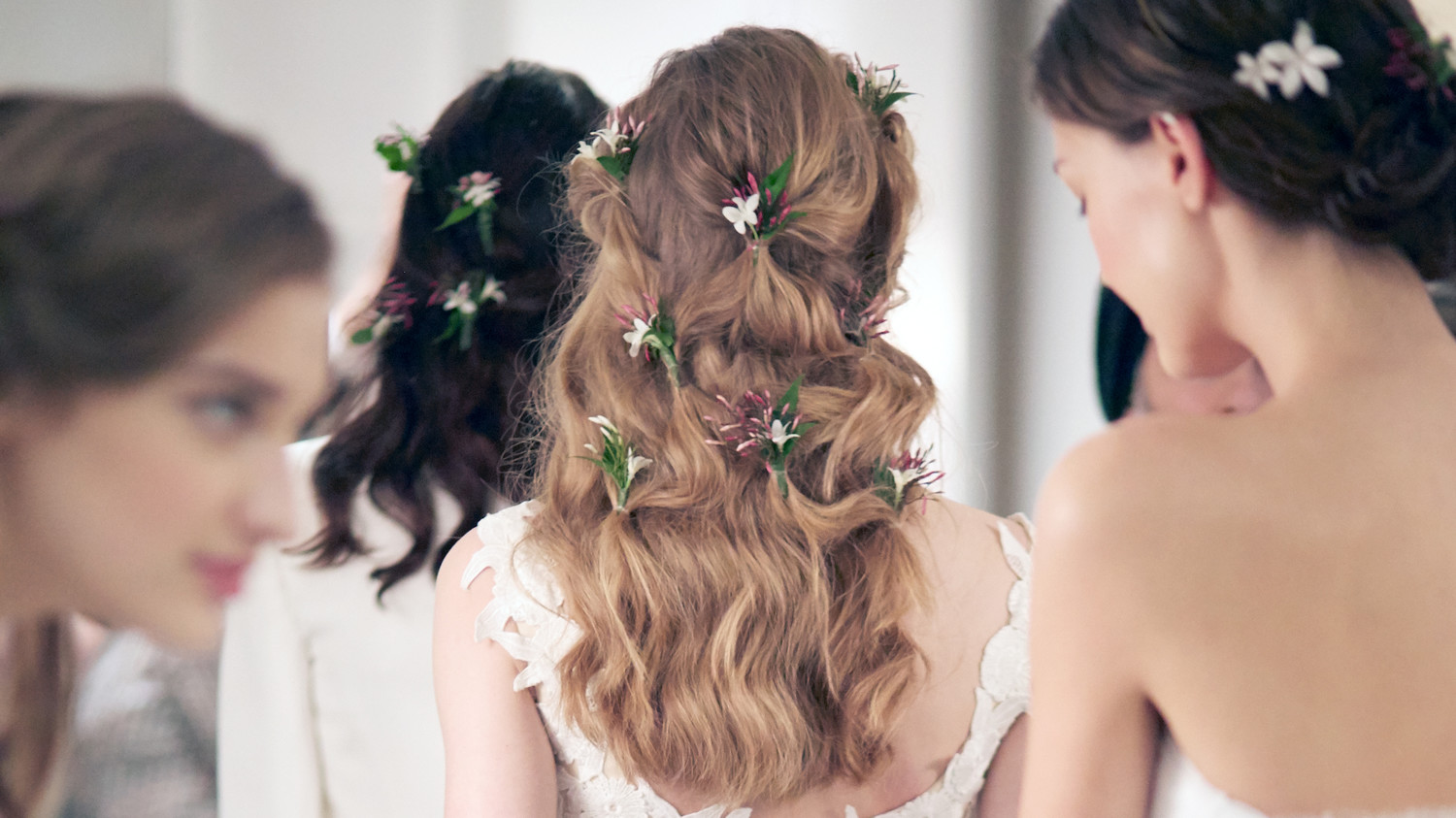 Bridal Hairstyles 2016: 5 Wedding Hairstyle Ideas From The Spring 2016 Bridal