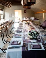 Real Weddings with Purple Ideas