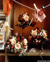 Bouquets with Old World Charm