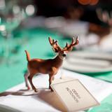 Deer Figurine Seating Card