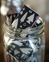 Matchboxes with Heart and Arrowhead Designs