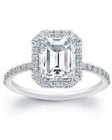 Uneek Jewelers Emerald-Cut Engagement Ring