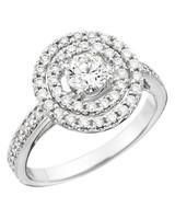 Memoire White Gold Engagement Ring