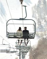 A Rustic Winter Destination Wedding in Sundance, Utah