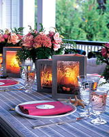 Photo Frames with Candle in the Middle