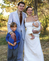 Real Wedding: Hannah and Charlie, Inverness, California